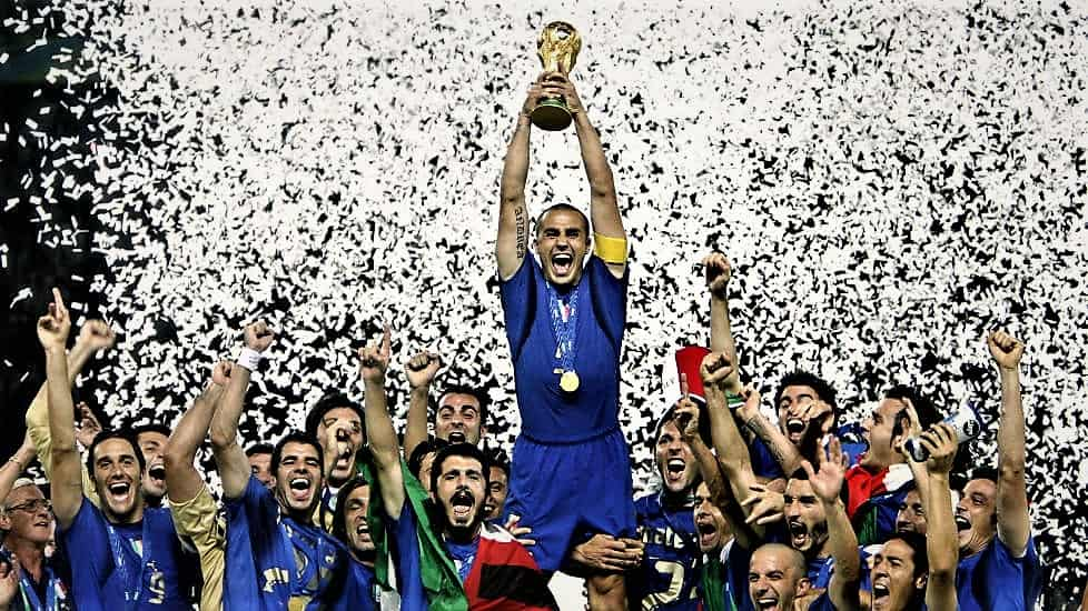 La storia del calcio italiano