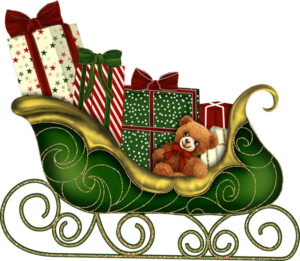santa_sleigh_PNG29